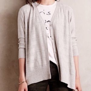 Left of Center Valonia High-Low Cardigan